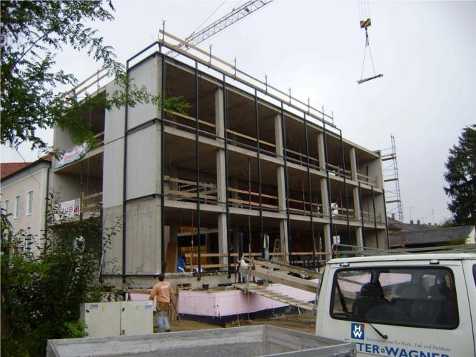 Structural glazing Fassade, Nurglas Windfang