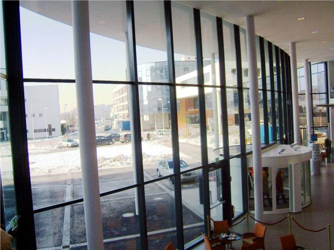 Stahl Pfosten-Riegelfassade