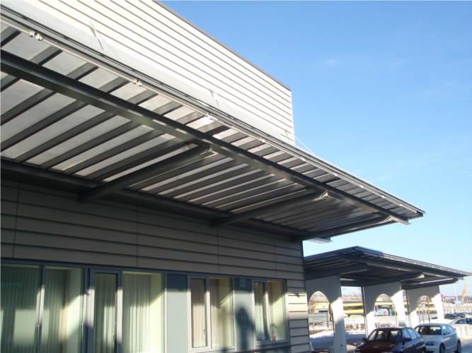 Vordächer, Brücke - Metallbau, Glasbau