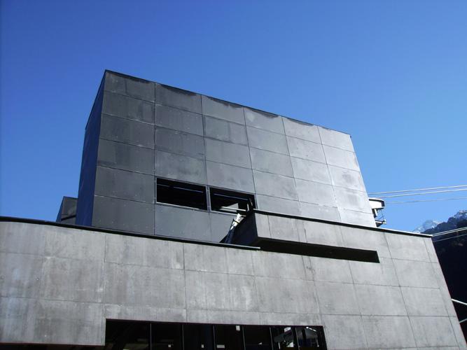 Stahlkonstruktion, Dacheindeckung, Stahlblechfassaden