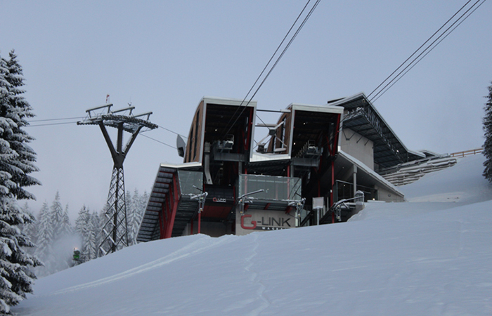 Konstruktion Stahlbau Bergbahn Grafenberg
