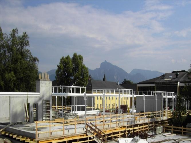 Stahlbauarbeiten, Vordach, Stiegenkonstruktion