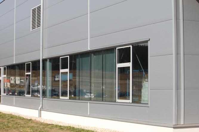 Produktionshalle CNC