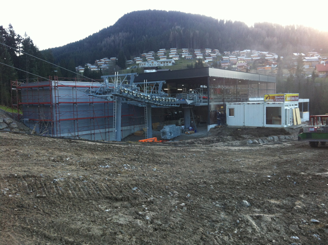 Stahlbau Lift Donnerkogel
