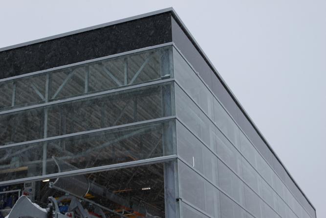 Liftgebäude Feuerkogel Stahlbau