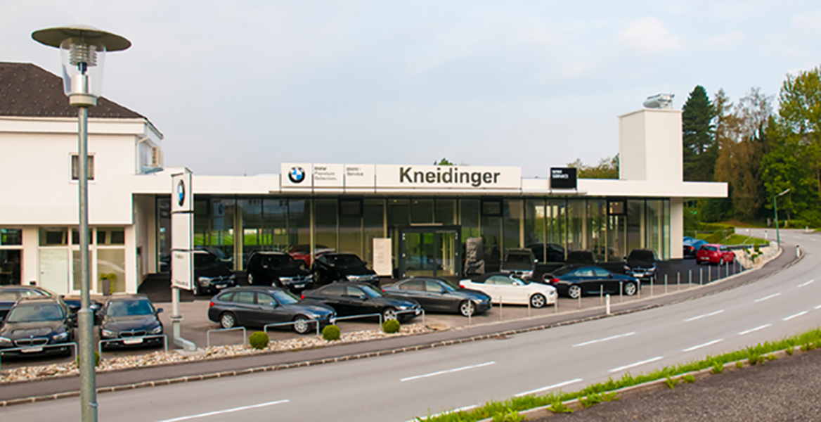 Autohaus kneidinger gr mer stahl for Autohaus stahl