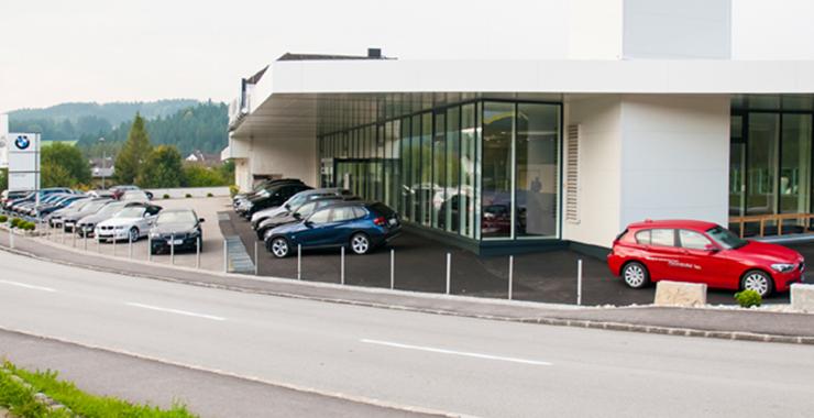Neubau Austellungshalle Kneidinger