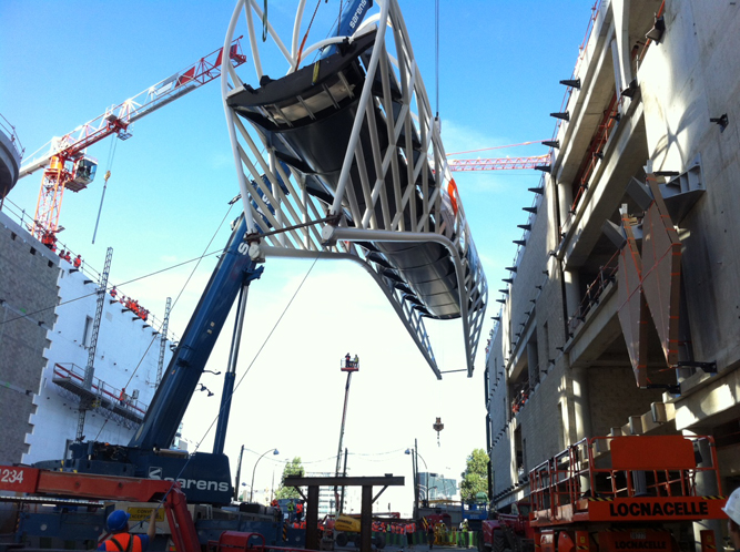 Stahltragwerk Brücke Paris